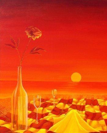 """Rose On Fire"" by Christine Velez Stone"