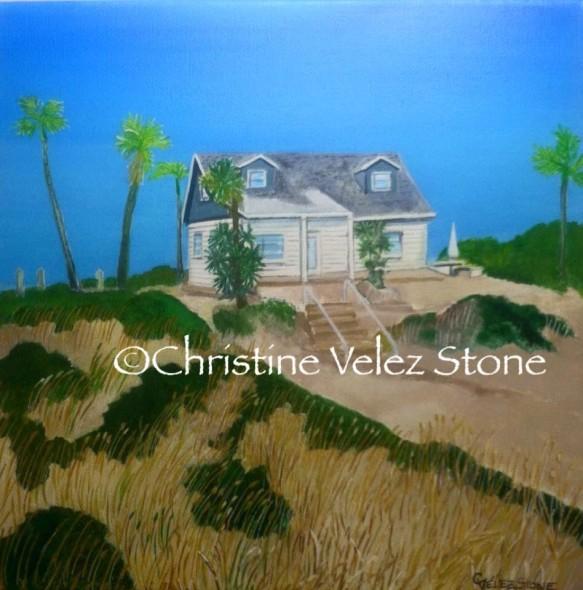 Carrir's mom's beach house